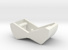 Switch Cover, Klixon 20TC (v0.5) Textured Front in White Strong & Flexible