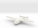 DFS-331 German Glider -1/700 Scale -(Qty. 1) in White Strong & Flexible