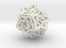 Celtic D12 - Solid Centre for Plastic in White Strong & Flexible