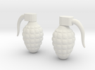 Grenade 6g in White Strong & Flexible