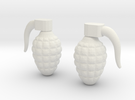 Grenade 4g in White Strong & Flexible