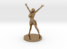 Joyful In Heart Figurine in Raw Brass