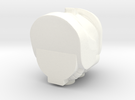 Rhinox Single Piece R in White Strong & Flexible Polished