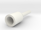 AEG Barrel Drill Adapter (5mm) in White Strong & Flexible