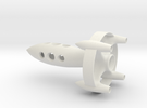 The FutureBot Rocket in White Strong & Flexible