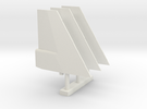 Pegasus FLY Fins in White Strong & Flexible