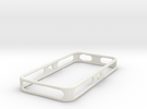 iPhone 4/4S Purdue Bumper in White Strong & Flexible