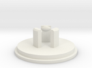 Link JLF U-Cap: LP Flanged in White Strong & Flexible