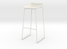 Steelcase Scoop Stool in White Strong & Flexible