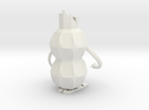Robot Pencil Holder in White Strong & Flexible