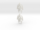 Eldar Corsair Jump Packs (set of 2) in White Strong & Flexible
