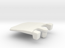 IBM Model F - Pivot Plate 3DScan in White Strong & Flexible
