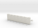 G-scale Flatcar in White Strong & Flexible