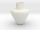 avalon vase in White Strong & Flexible