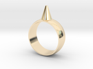 223-Designs Bullet Button Ring Size 7.5 in 14K Gold
