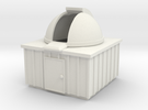Z-scale Observatory in White Strong & Flexible