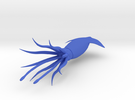 Squid-3D in Blue Strong & Flexible Polished