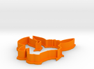 Eevee Cookie Cutter in Orange Strong & Flexible Polished