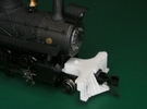 HOn30 road pilot for 2-8-0 steam loco in White Strong & Flexible Polished