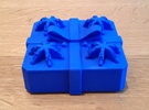 Present - Centrifugal Puzzle Box in Blue Strong & Flexible Polished