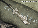 Pendant - The Ashbringer in Stainless Steel
