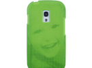 Samsung S3 Mini 3D Printed case - Portrait collect in Green Strong & Flexible Polished