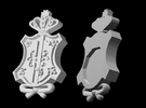BJD, SD & MSD Cosplay Pin in White Strong & Flexible