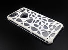 iPhone 6 case - Cell 2 in White Strong & Flexible Polished