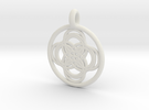 Thebe pendant in White Strong & Flexible