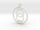 Orthosie pendant in White Strong & Flexible