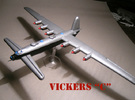 Vickers C (1/285 Scale) - Qty. 1 in White Strong & Flexible