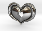 Twilight Princess Heart Piece Cut Out in Premium Silver