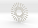 Spirograph03 in White Strong & Flexible