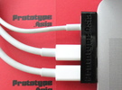 Macbook Pro Dock Cable Double (For MagSafe Adapter in Black Acrylic