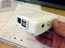 Raspberry Pi Case : theKranko v1.0 in White Strong & Flexible
