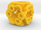 Dice148 in Yellow Strong & Flexible Polished