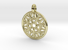 Cyllene pendant in 18K Gold Plated