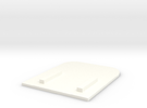 Quarterpanel single parallax Actvitybot Boebot in White Strong & Flexible Polished