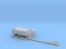 N-Scale Donut Shoppe in Frosted Ultra Detail