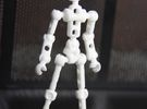 V3 Moli (female)- Poseable Figure Kit in White Strong & Flexible