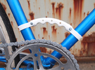 Fixie Carrying Handle in White Strong & Flexible