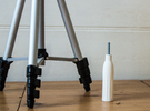 Tripod handle M5 in White Strong & Flexible