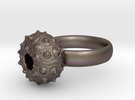 Sputnik Sea Urchin Ring in Stainless Steel