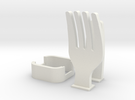 Fork Cable Organizer in White Strong & Flexible