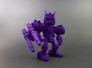 """Minibot """"Doomface"""" in Purple Strong & Flexible Polished"""