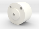 SHOULDER BUTTON UPPER in White Strong & Flexible Polished