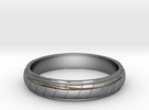 Ring T60 in Premium Silver
