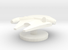 M Falcon Token in White Strong & Flexible Polished