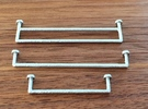1:12 Towel rail small in White Strong & Flexible Polished