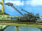 Nz120 (1/5) Craven 40-ton Steam Crane - Chassis in Frosted Extreme Detail
